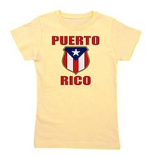 puerto rico (lk) Girl's Tee