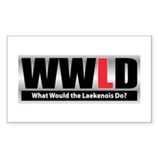 WW the Laekenois D Rectangle Decal