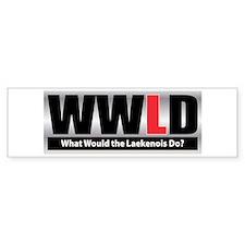 WW the Laekenois D Bumper Bumper Sticker