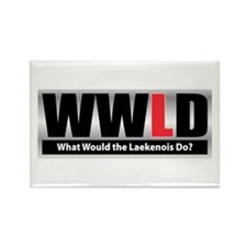 WW the Laekenois D Rectangle Magnet (10 pack)