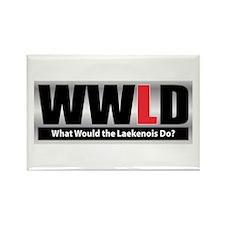WW the Laekenois D Rectangle Magnet