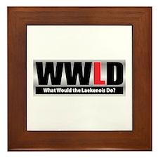 WW the Laekenois D Framed Tile