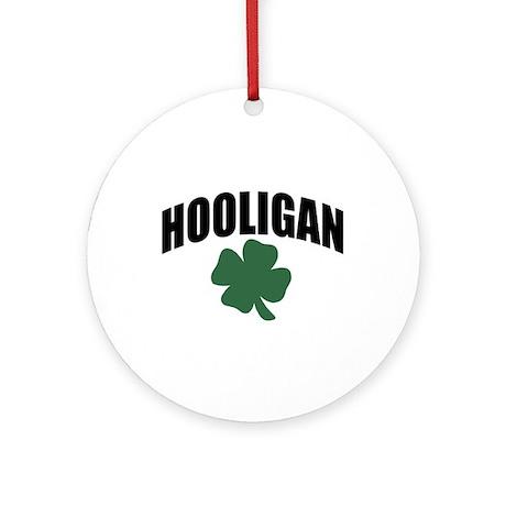 Hooligan Ornament (Round)
