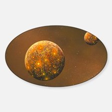 Formation of the Moon, artwork Decal