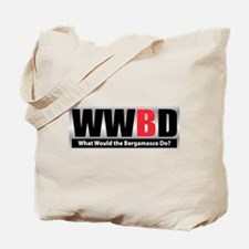WW the Bergamasco D Tote Bag