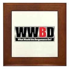 WW the Bergamasco D Framed Tile