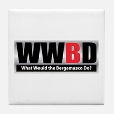 WW the Bergamasco D Tile Coaster