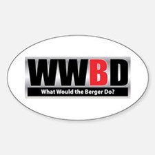 WW the Berger D Oval Decal