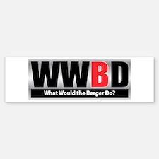 WW the Berger D Bumper Bumper Bumper Sticker