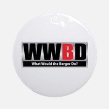 WW the Berger D Ornament (Round)