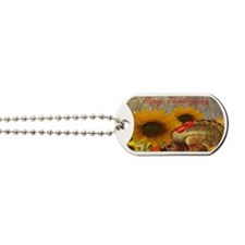 Thanksgiving Holiday Dog Tags
