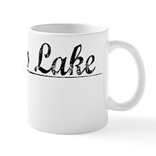 Devils Lake, Vintage Mug