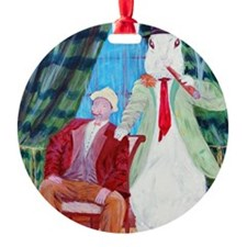 Harvey  Elwood Ornament
