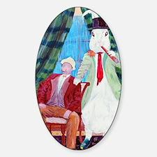 Harvey  Elwood Sticker (Oval)