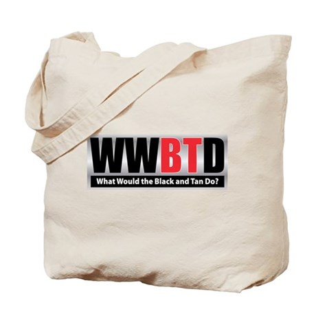 WW the Black and Tan D Tote Bag