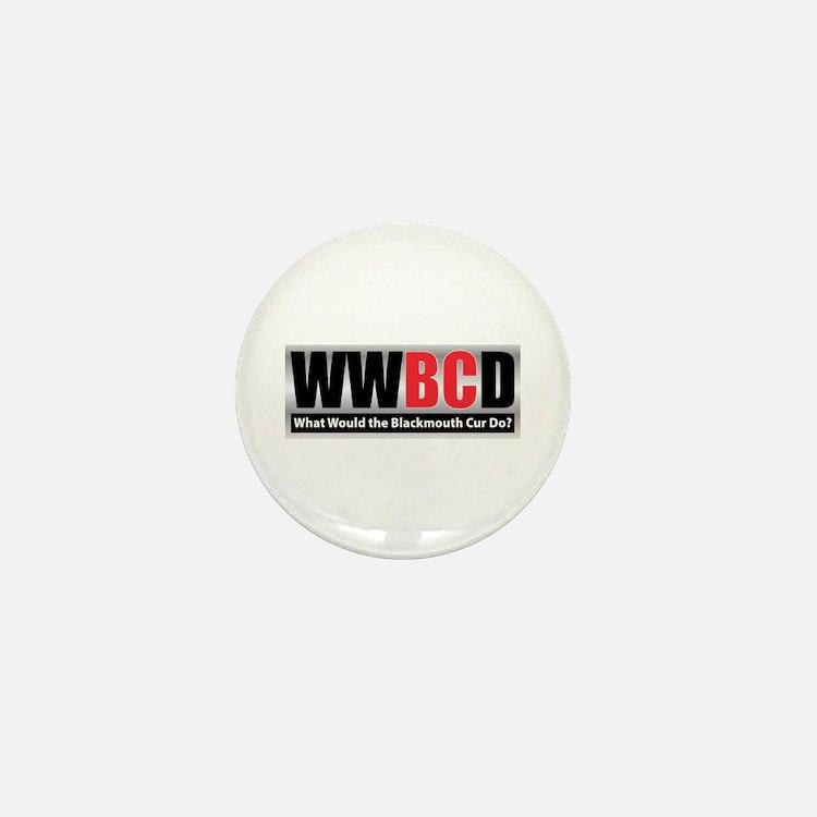 WW the Blackmouth Cur D Mini Button