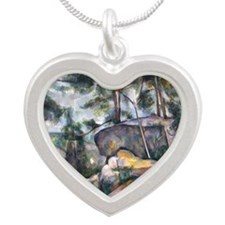 H26 Silver Heart Necklace