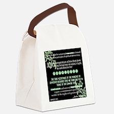 Dalai Lama: Universal Compassion Canvas Lunch Bag
