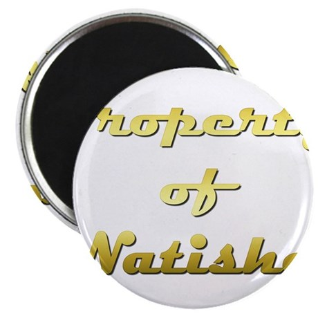 Property Of Natisha Female Magnet