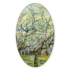 Van Gogh White Orchard Decal