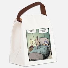 Goodnight Honey Canvas Lunch Bag
