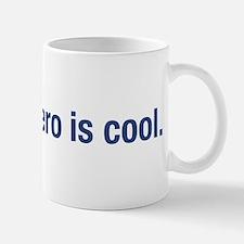 absolute zero is cool. Mug