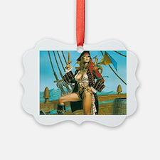 pin-up pirate Ornament