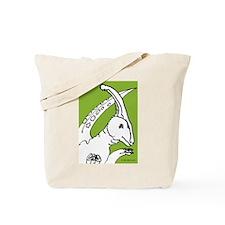 Parasaurolophus Light Green! Tote Bag