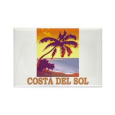 Costa del Sol, Spain Rectangle Magnet