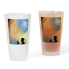 Literary Captivation Drinking Glass