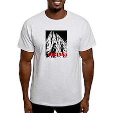 Sagrada Familia Ash Grey T-Shirt