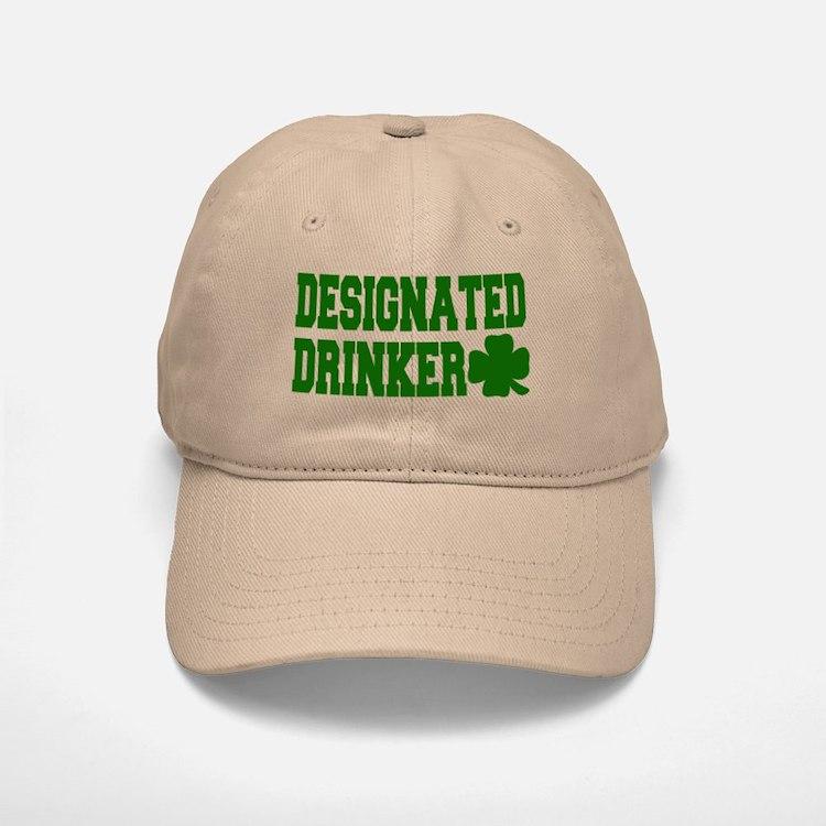 Designated Drinker Baseball Baseball Cap
