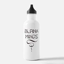 BLANK MINDS T-Shirt Water Bottle