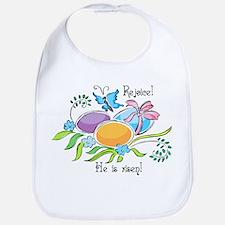 Easter Egg Rejoice Bib