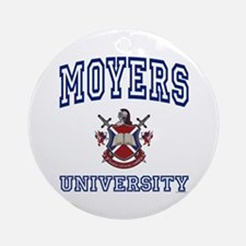 MOYERS University Ornament (Round)