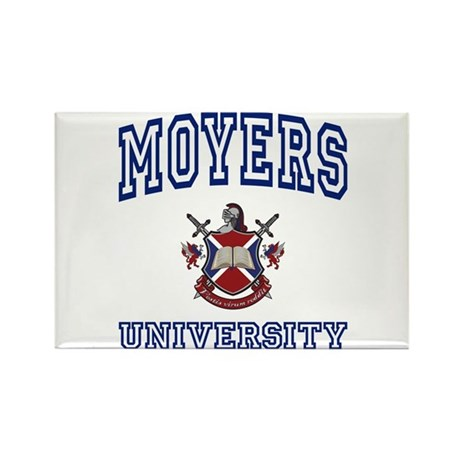 MOYERS University Rectangle Magnet