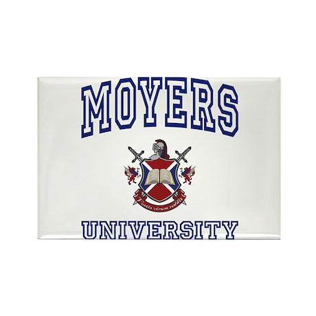 MOYERS University Rectangle Magnet (100 pack)