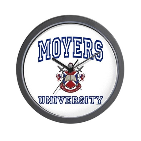 MOYERS University Wall Clock