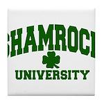 Shamrock University Tile Coaster