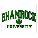 Shamrock University Small Poster