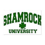 Shamrock University Mini Poster Print