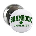 Shamrock University Button