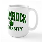 Shamrock University Large Mug
