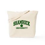 Shamrock University Tote Bag