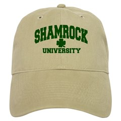 Shamrock University Baseball Cap