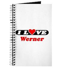 I Love Werner Journal