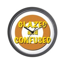 Glazed and Confused Wall Clock