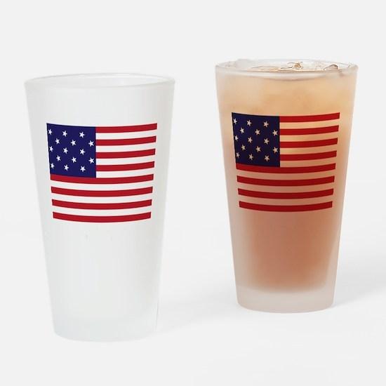 Star-Spangled Banner (Dark) Drinking Glass