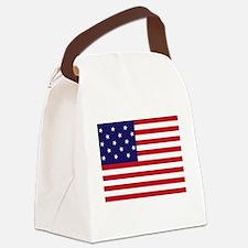 Star-Spangled Banner (Dark) Canvas Lunch Bag