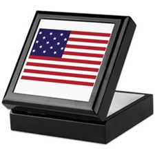 Star-Spangled Banner (Dark) Keepsake Box